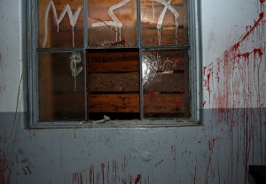 Blood on the walls..LV