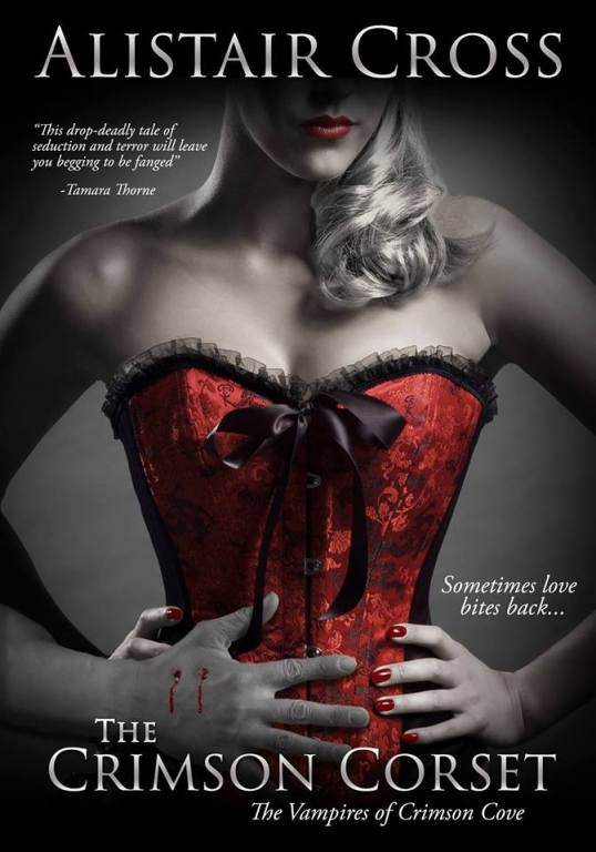 the crimson corset cover